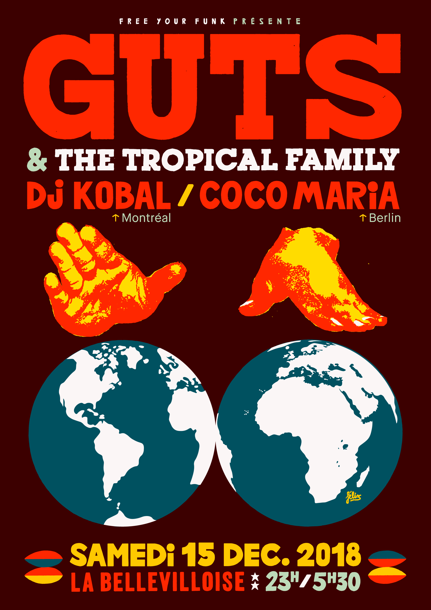 Guts Tropical Party
