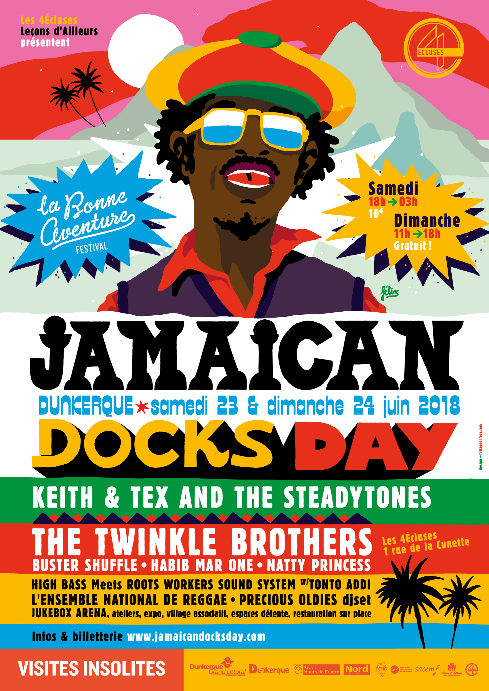 Jamaican Docks Day 2018