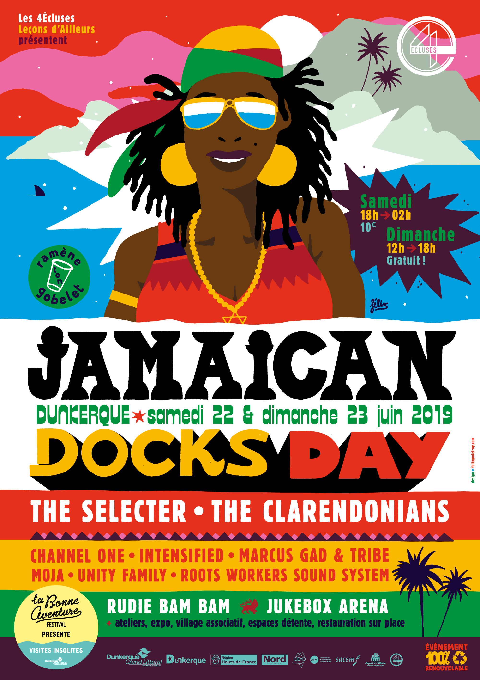 Jamaican Docks Day 2019